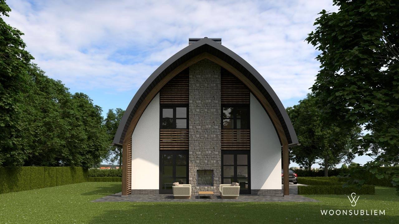 villa in blaricum veranda aanbouw
