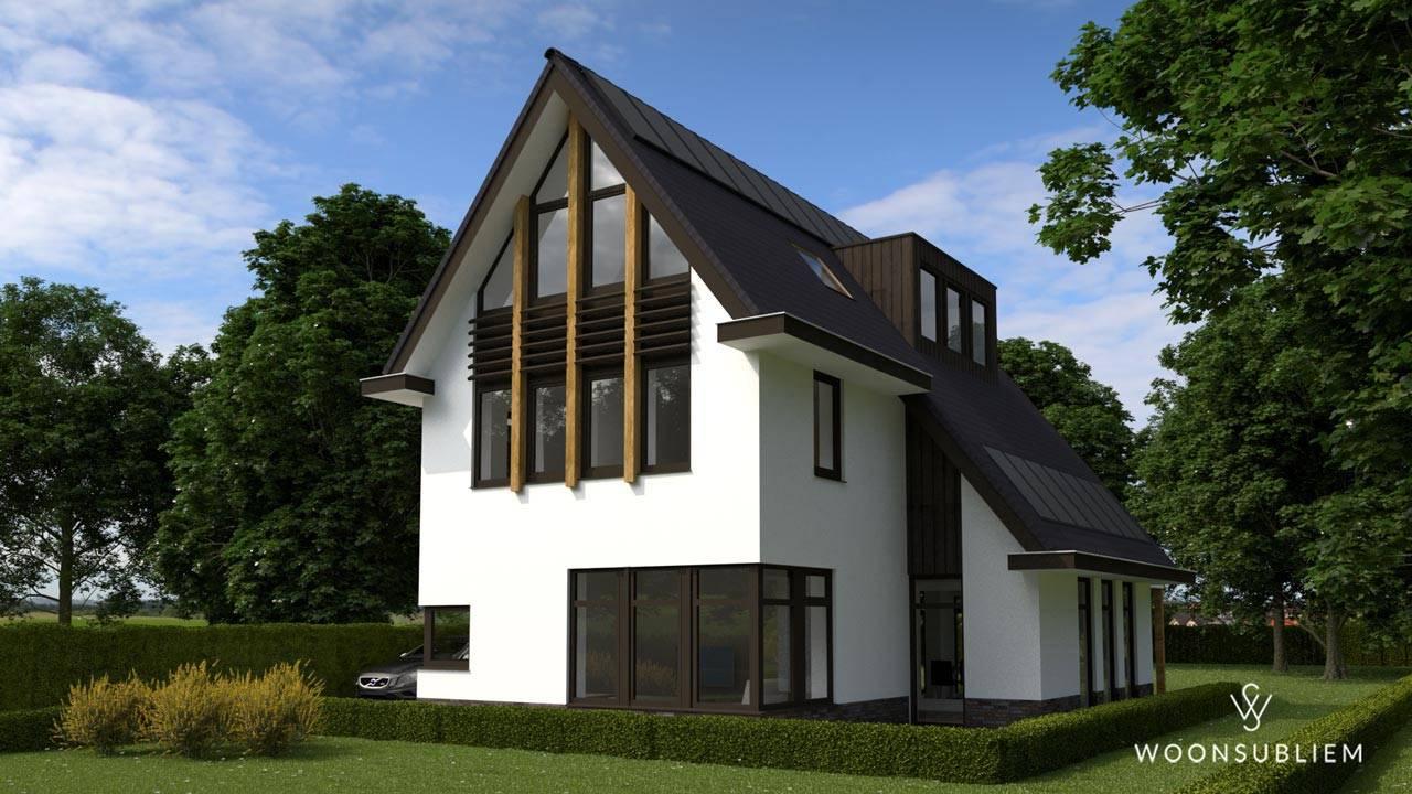 Villa asymmetrische kap Driebergen