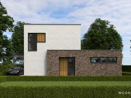 Kubistische woning in Oosterwold #179