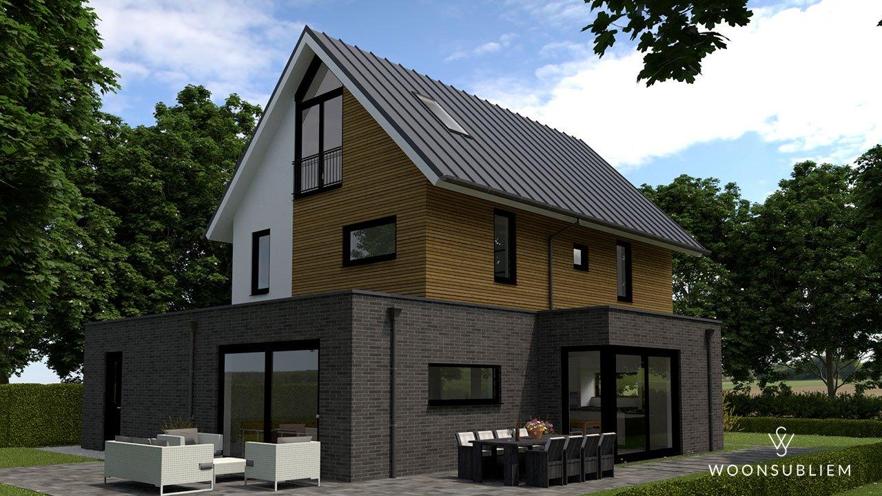 Villa in Deventer bijgebouw