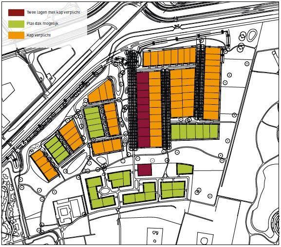 Nieuwbouwkavels Zwolle Oude Mars overzicht