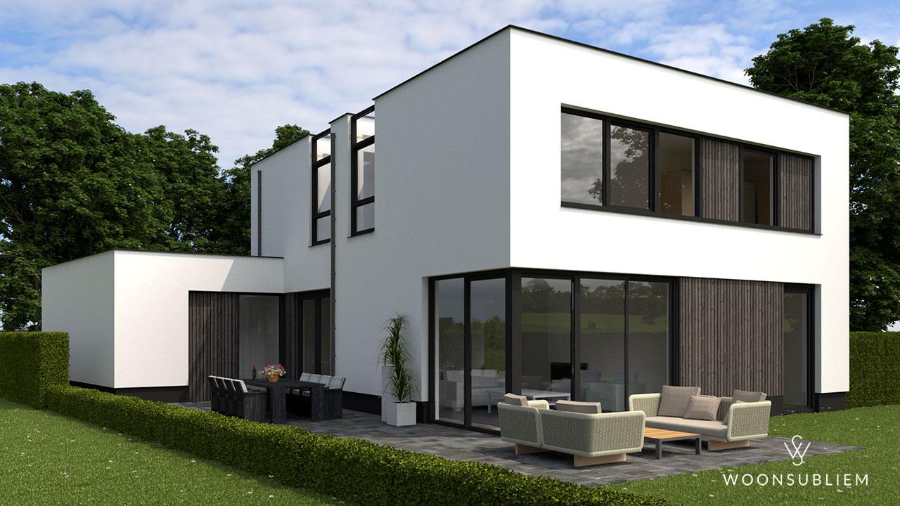 Moderne woning in Oosterhout terras