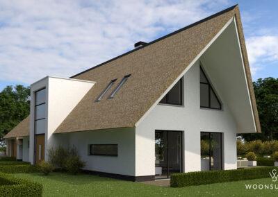 Villa met rieten dak in Hoogland #174